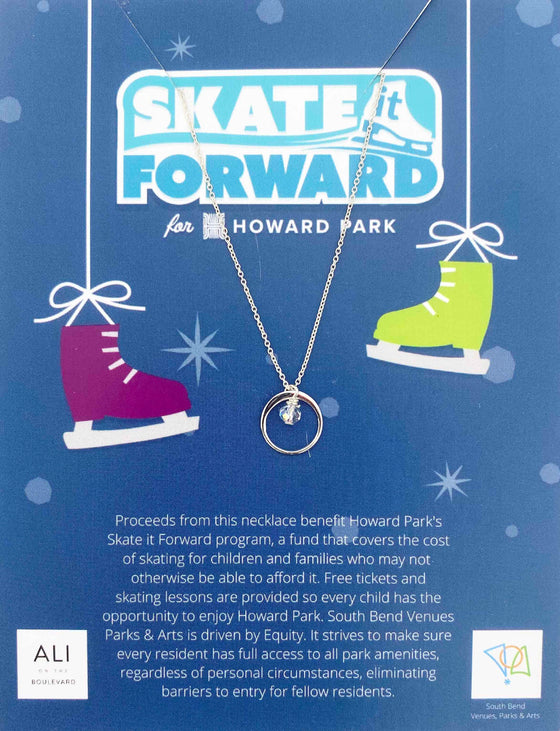 Howard Park Skate it Forward Cause Necklace (6051080339616)