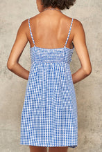 Load image into Gallery viewer, Find Your Own Happy Blue Gingham Dress