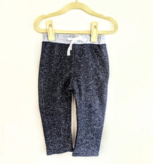 Mud Pie Blue Reversible Pants (5742443167904)