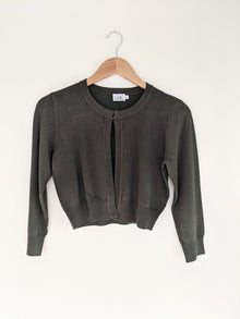 Better With You Olive Cropped Cardi (5501396254880)