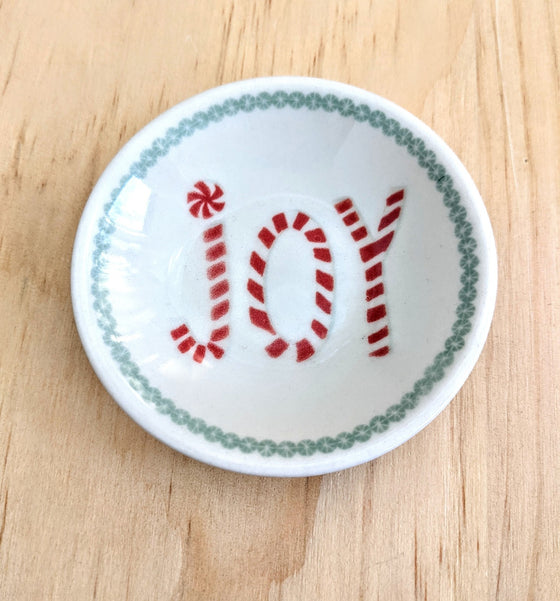 Christmas Sweets Round Stoneware Dishes (5612417515680)