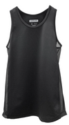 Easy Breezy Mesh Tank in Black (6011127890080)