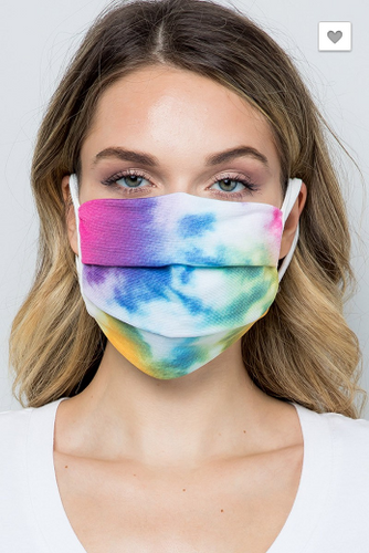 Reusable Tie-Dye Cotton Masks (5268760232096)