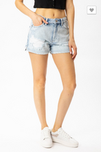 Load image into Gallery viewer, KanCan Don't Love Lightly High Rise Denim Shorts