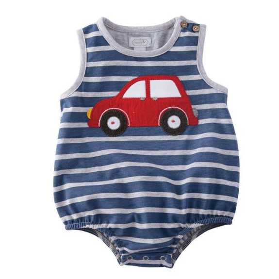 Mud Pie Car Bubble 9-12 Months