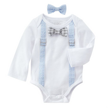 Mud Pie Easter Crawler and Bow Ties 3-6m (5298475794592)