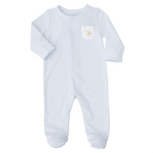 Mud Pie French Knot Duck Sleeper 0-3 Months (5287964213408)