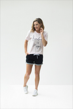 Load image into Gallery viewer, Always Ready Black Athleisure Shorts