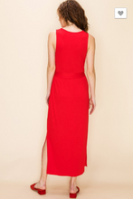 Load image into Gallery viewer, Radiant in Red Maxi Dress