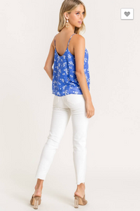Perfectly Imperfect Periwinkle Top