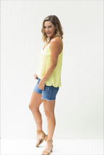 Load image into Gallery viewer, Here Comes The Sun Polka Dotted Tank