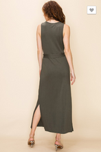 Load image into Gallery viewer, Olive You So Much Maxi Dress