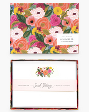Load image into Gallery viewer, Rifle Juliet Rose Social Stationary Set