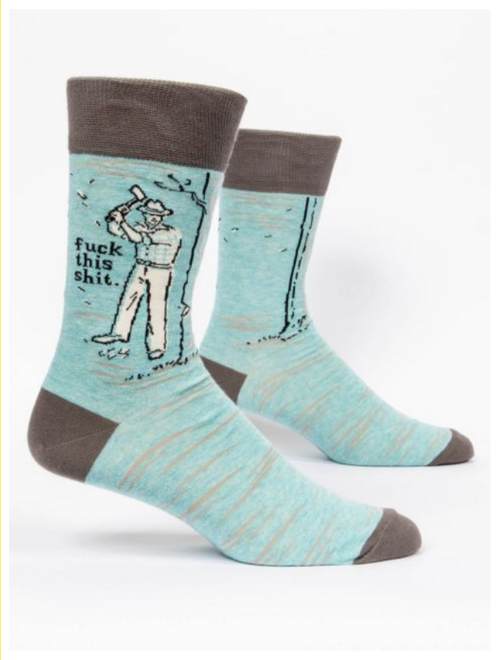 F*** This S*** LOL Men's Socks (5529435537568)