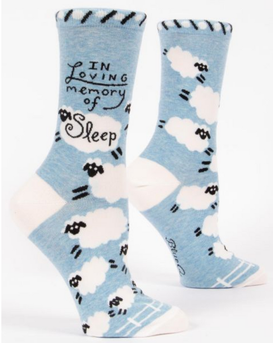 Loving Memory of Sleep LOL Socks (5529408602272)