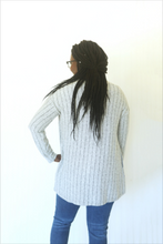 Load image into Gallery viewer, GANZ Pinstripe Party Steel Cardigan (5529254363296)