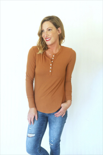 Walk This Way Rust Top (5529336348832)