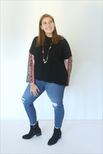 Load image into Gallery viewer, Colorblock Cheetah Charm Sweater (5574678347936)