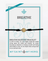 Breathe Blessing Bracelet Gold Medal (5742720024736)