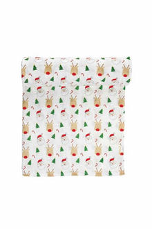 Mud Pie Muslin Christmas Swaddle (5742400471200)