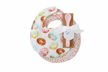 Mud Pie Donut Muslin Bibs & Spoon Set (5742406566048)