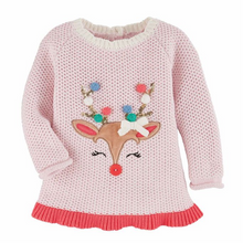 Mud Pie Pom Pom Reindeer Sweater (5742570537120)
