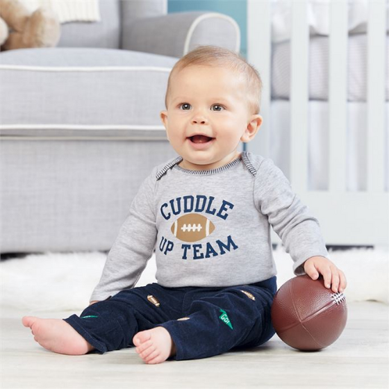 Mud Pie Football Pants (5165037387820)