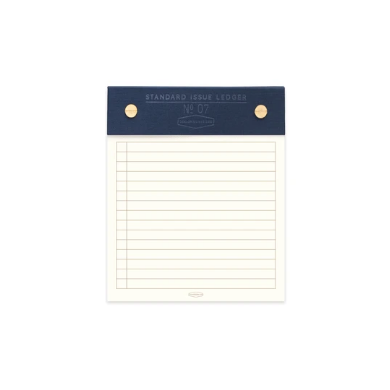 Blue Standard Issue Post Bound Note Pad (5814879387808)