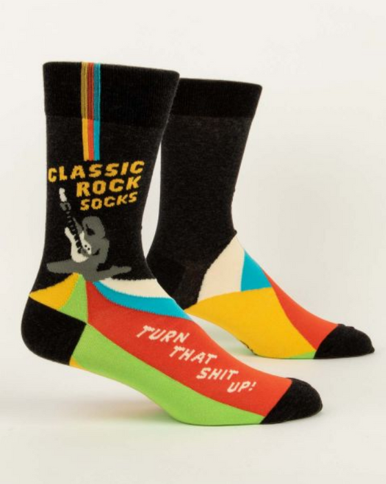 Classic Rock Socks LOL Men's Socks (5822528553120)