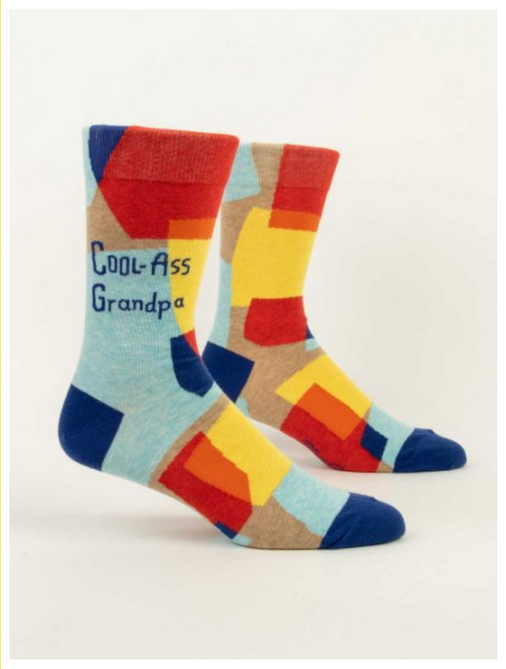 Cool A** Grandpa LOL Men's Socks (5822533763232)