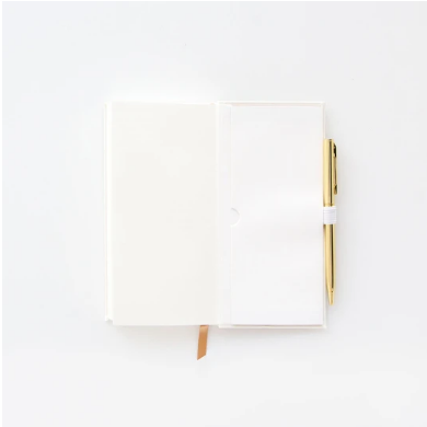 The Little Book of White Lies Skinny Journal with Pen (5847562125472)