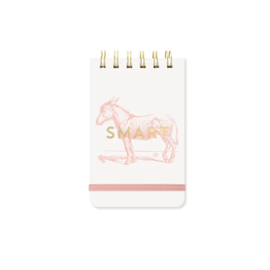 Smart Donkey Twin Wire Notepad (5847552295072)