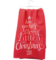 PRI 28060 Dish Towel Merry Little (5917121118368)