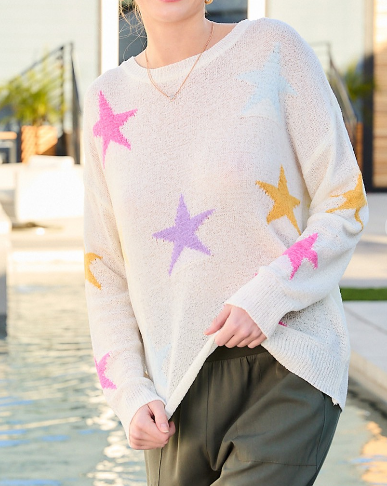 Star Light Sweater (6013300015264)