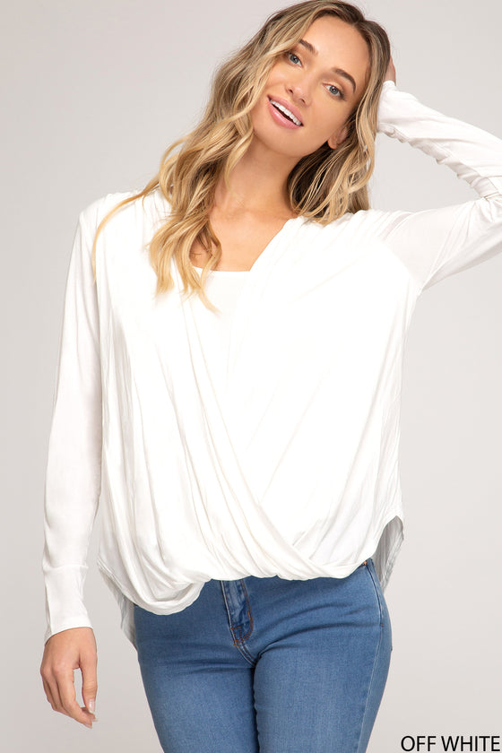 Radiance All Around Off White Top (5612188663968)
