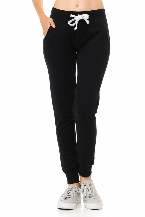 Lounge Legend Black Jogger Sweatpants