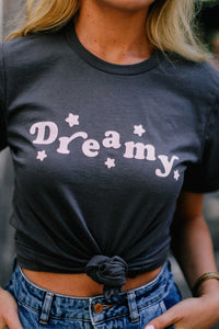 Dreamy Charcoal Graphic Tee