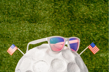 Load image into Gallery viewer, Flamingos Win Majors Goodr Sunglasses