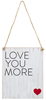 Modern Love Tag Ornaments (5038580924460)