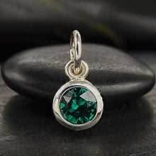 Load image into Gallery viewer, Swarovski Crystal Birthstone Necklaces (5089239236652)