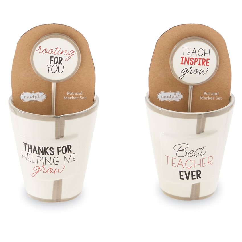 Mud Pie Teacher Pot & Marker Sets (5332594622624)