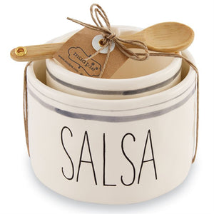 Mud Pie Salsa & Guac Nested Bowl Set (5330332582048)