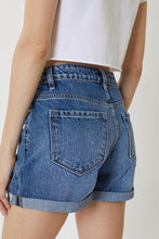 Load image into Gallery viewer, KanCan Don't Love Lightly Medium Wash High Rise Denim Shorts