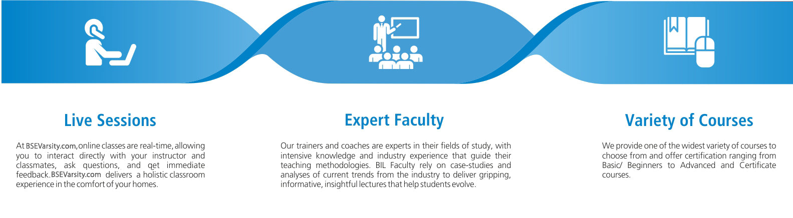 BSE Institute ltd Live Sessions, Expert Faculty, Online & Offline Courses