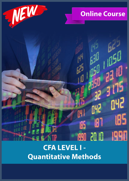 Chartered Financial Analyst Quantitative Method Course