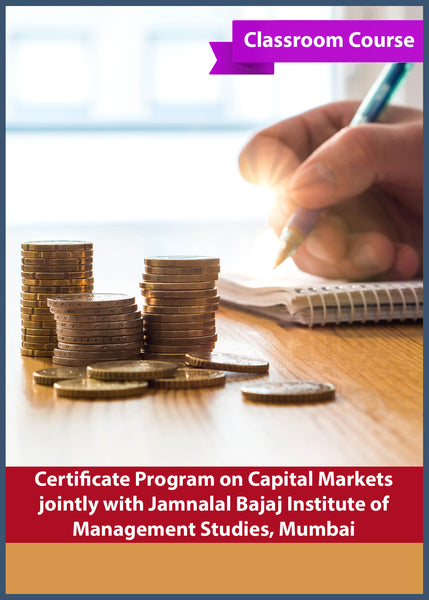 Certificate Program on Capital Markets jointly with Jamnalal Bajaj Institute of Management Studies, Mumbai - bsevarsity.com