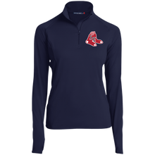 Load image into Gallery viewer, Sox Embroidered Logo Women's 1/2 Zip Performance Pullover