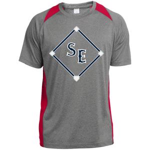 SE Sox Diamond LogoYouth Colorblock Performance T-Shirt