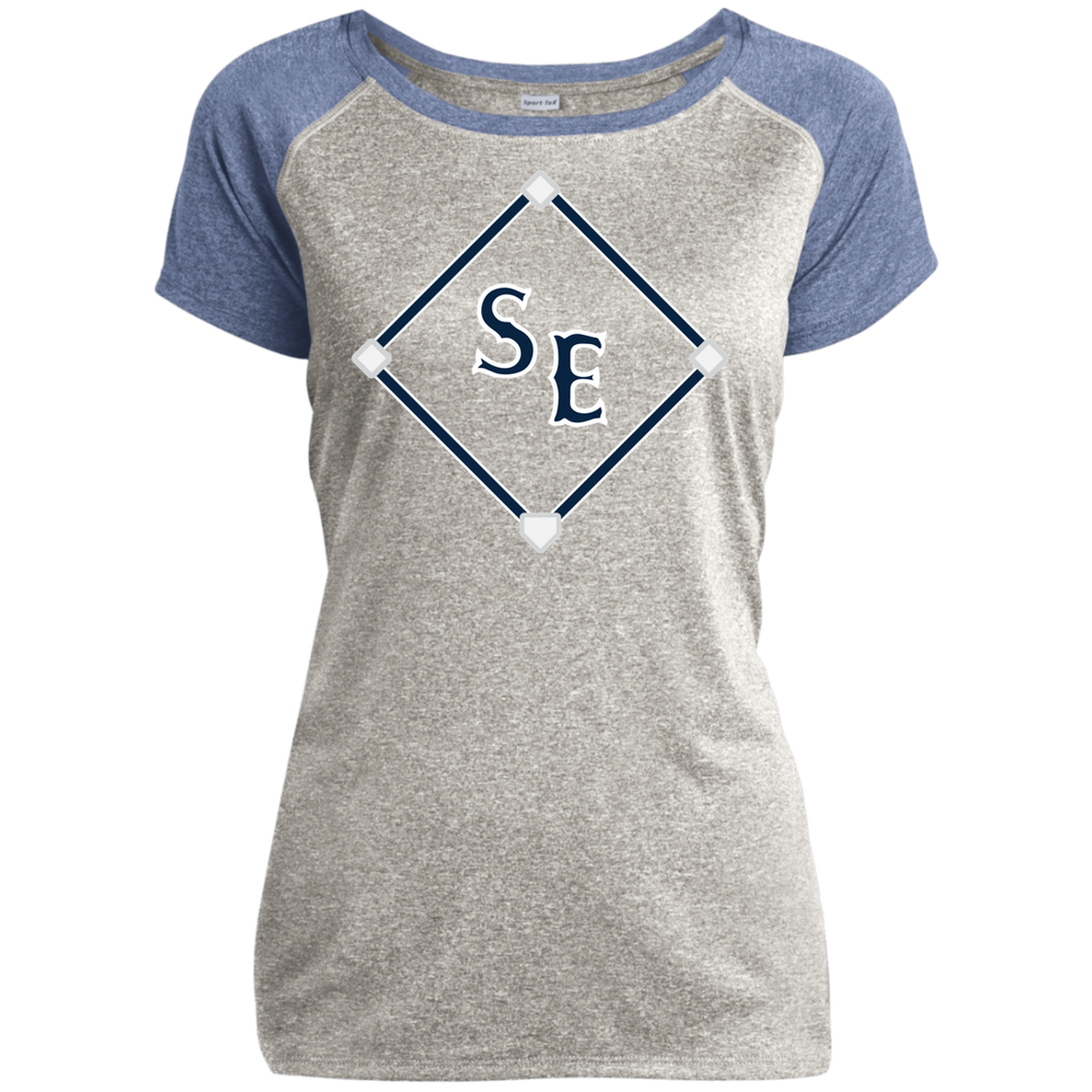 SE Sox Diamond Ladies Heather on Heather Performance T-Shirt