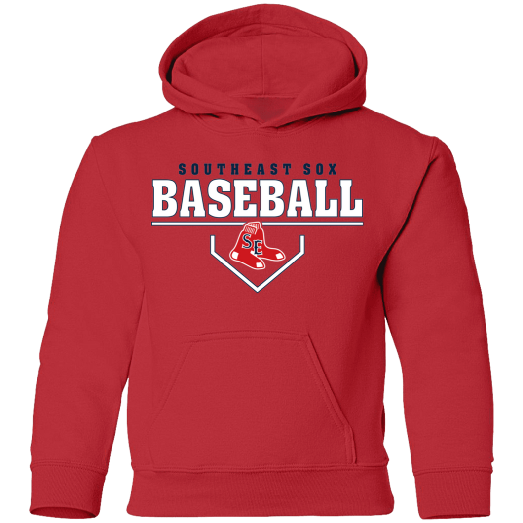 SE Sox Plate Logo Youth Pullover Hoodie
